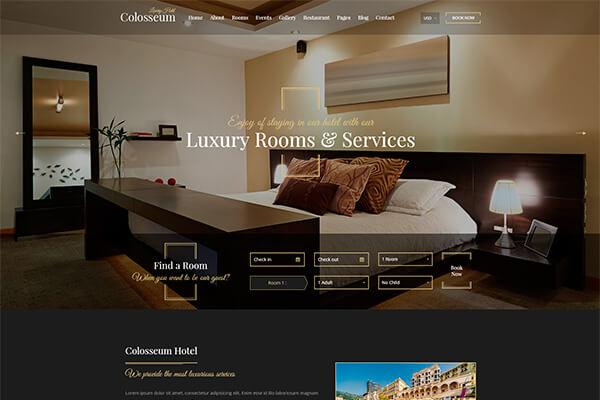 Top 5 mẫu thiết kế website nhà hàng khách sạn đứng đầu thế giới