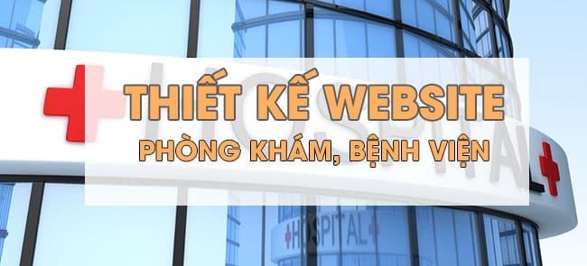 Thiết kế website bệnh viện, phòng khám chuyên nghiệp 1