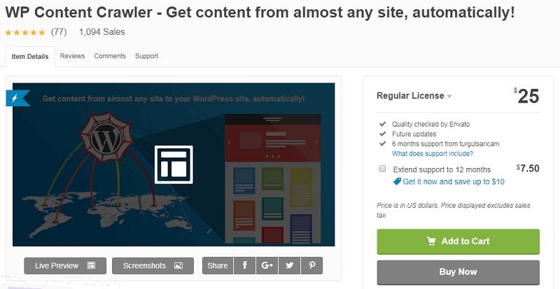 Top 3 plugins lấy dữ liệu tự động của website khác về web mình 1